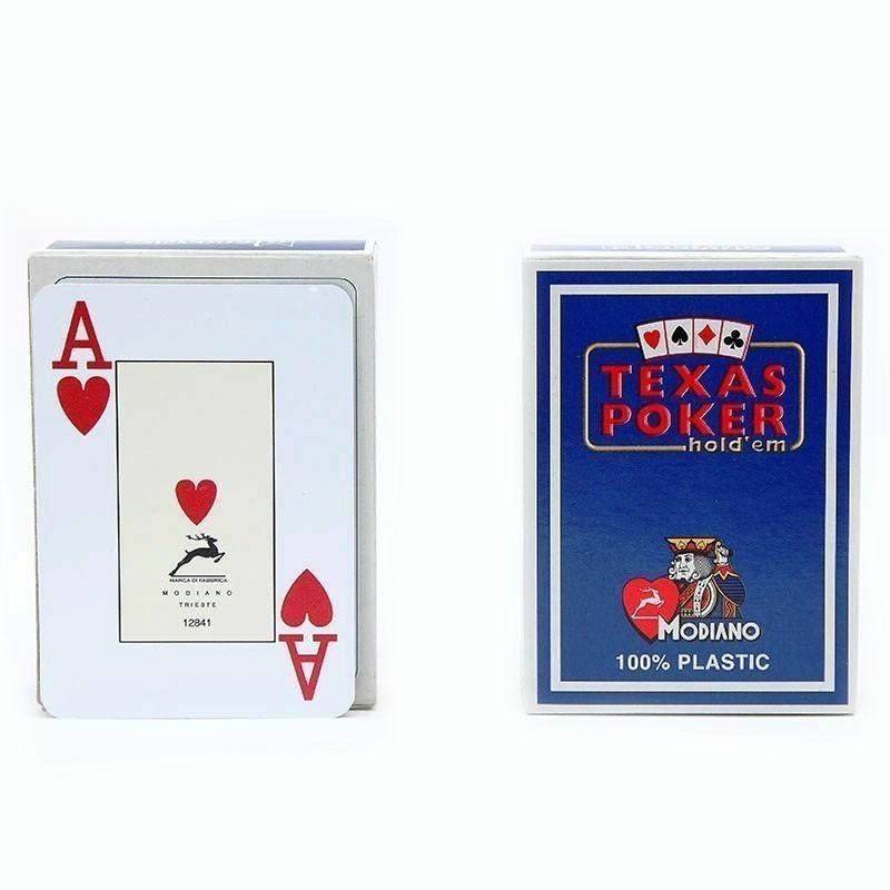 Modiano Texas Poker Jumbo Hold'em   Τράπουλα Modiano Texas Jumbo