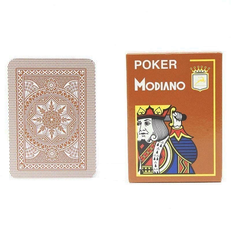 Modiano Cristallo Poker Size, 4 PIP Jumbo | Τράπουλα Modiano Cristallo Jumbo