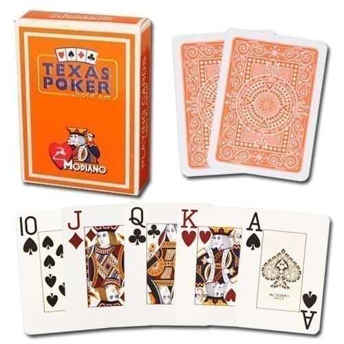 Modiano Texas Poker Jumbo Hold'em | Τράπουλα Modiano Texas Poker Jumbo