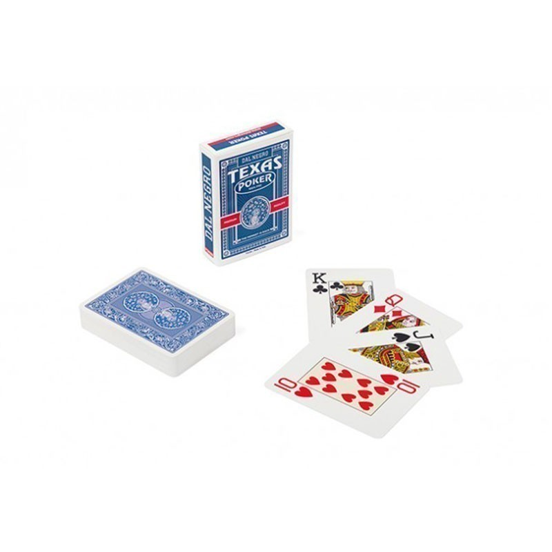 Dal Negro Texas Poker Jumbo Index 2 Pips   Τράπουλα Dal Negro Jumbo