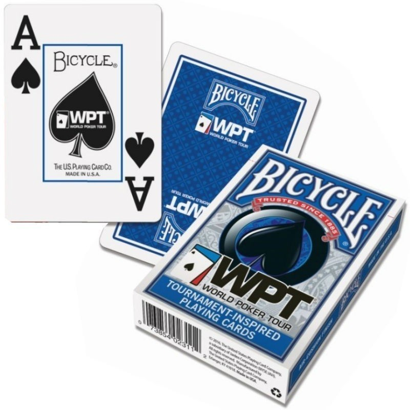 Bicycle WPT Poker Jumbo Index 2 Pips