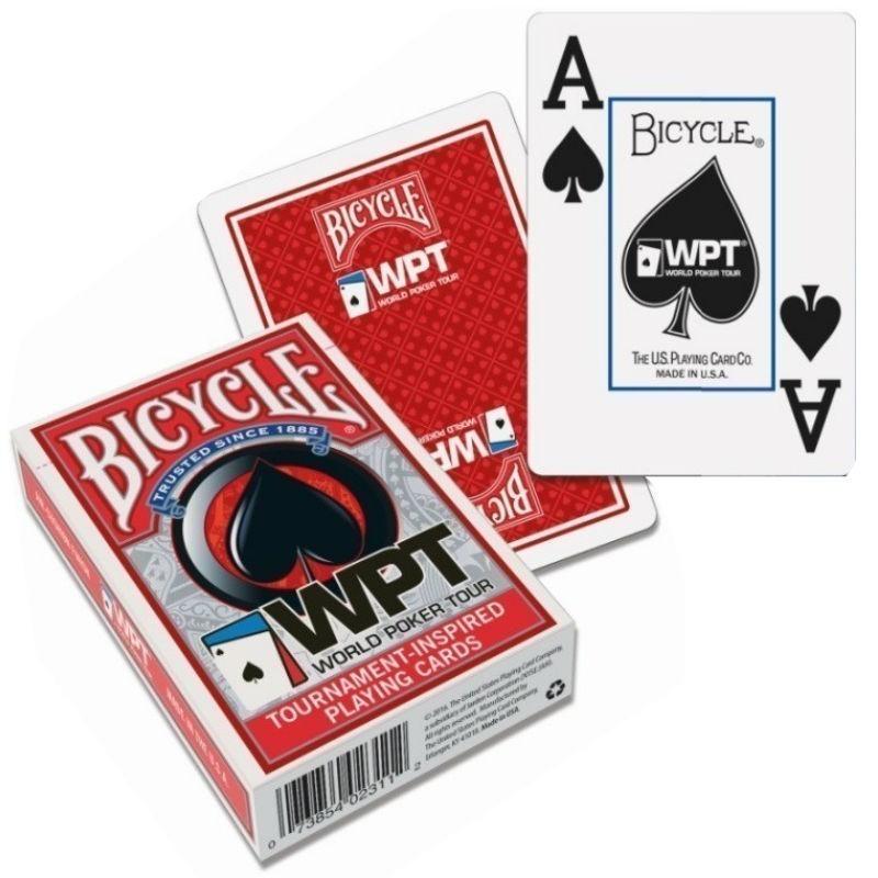 Bicycle WPT Poker Jumbo Index 2 Pips