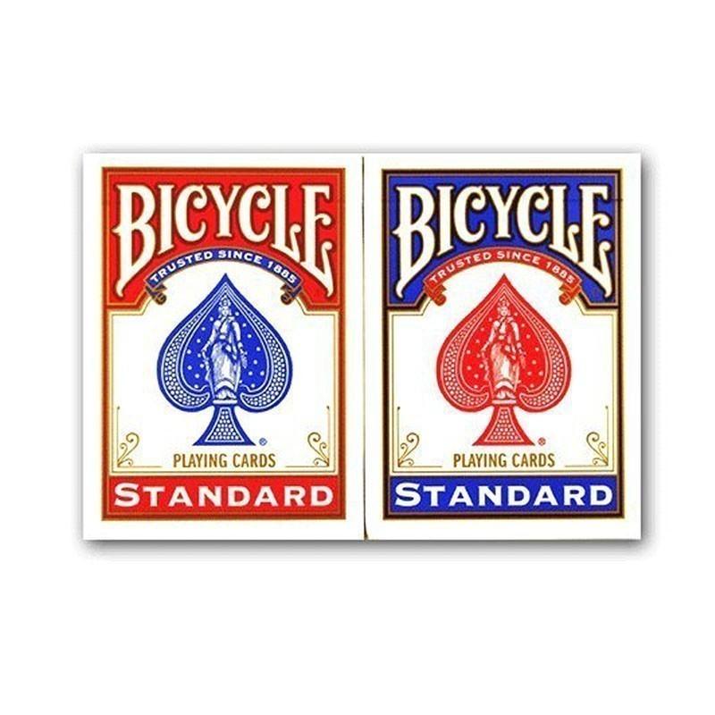 Bicycle Standard Index 2 pips 2 Deck - Set | Σετ Bicycle Νορμάλ Μεγέθους Δείκτης 2