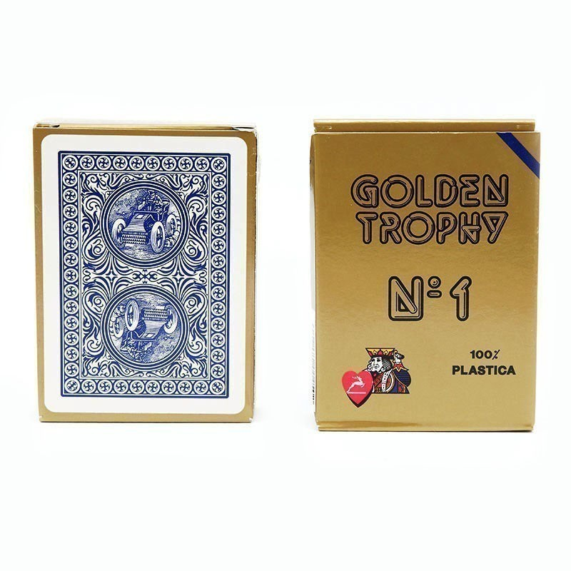 Modiano Golden Trophy Regular Index 4 Pip | Τράπουλα Modiano Golden Trophy Νορμάλ Μεγέθους Δείκτης 4