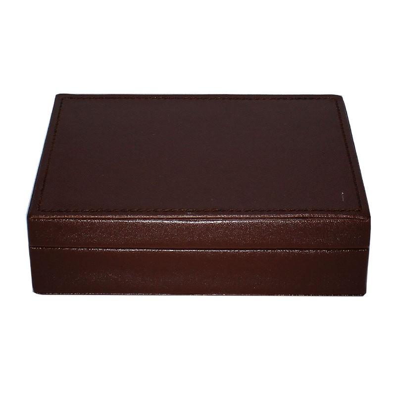 Modiano Golden Trophy regular Index 4 PiP 2 Deck set in artificial Hard Leather Box | Σετ Modiano Golden Trophy Νορμάλ Μεγέθους Δείκτης 4