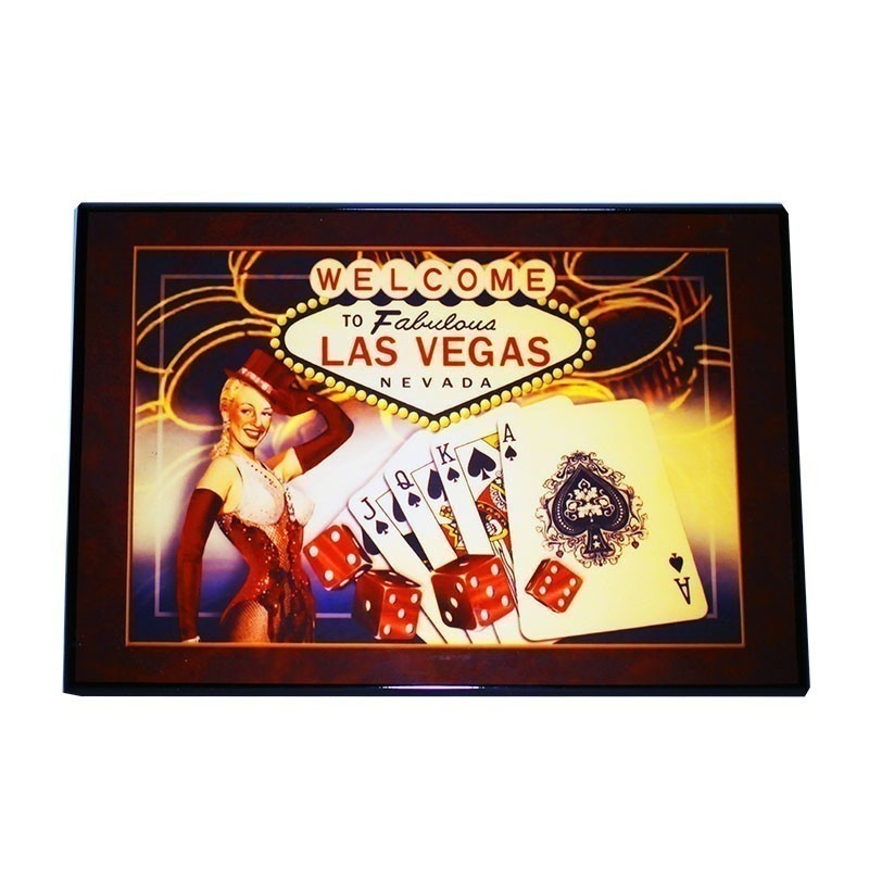 Modiano Texas Poker Jumbo 2 Red & Orange Deck in High-Gloss Wooden Box | Σετ Modiano Texas Poker Σε Ξύλινο Κουτί