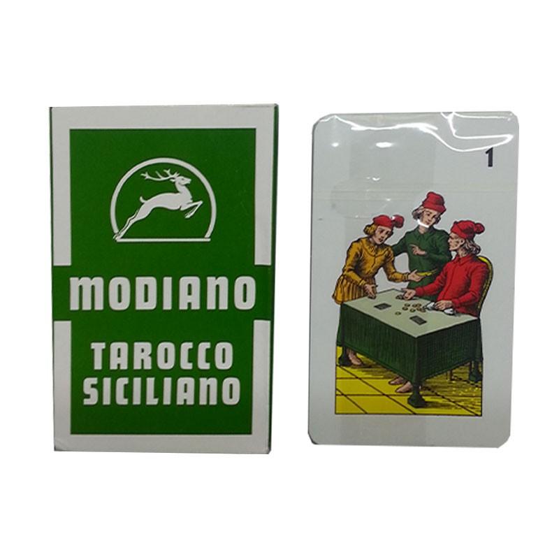Tarocco Siciliano - Sicilian Tarot Cards | Τράπουλα Ταρώ Modiano Tarocco Siciliano