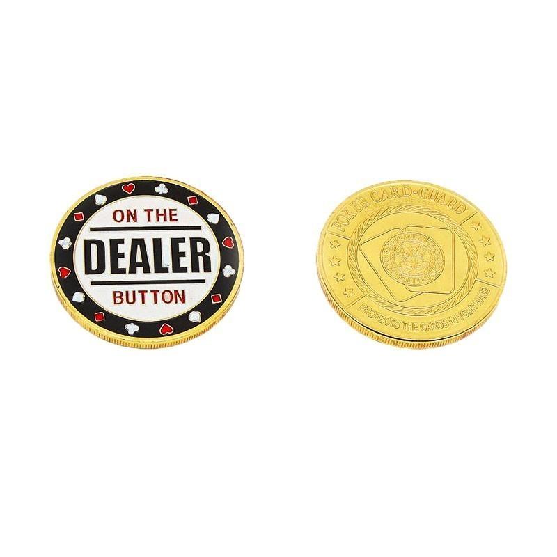 Medal Dealer Button | Μεταλλικό Dealer Button