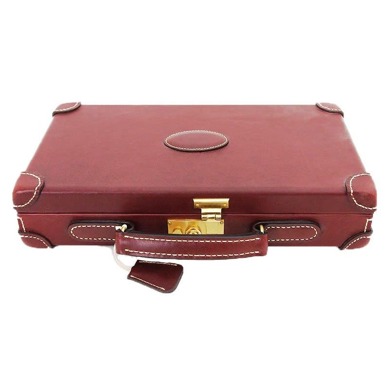Leather Chip Case 300pcs | Βαλίτσα Δερμάτινη Για Μάρκες 300τεμ