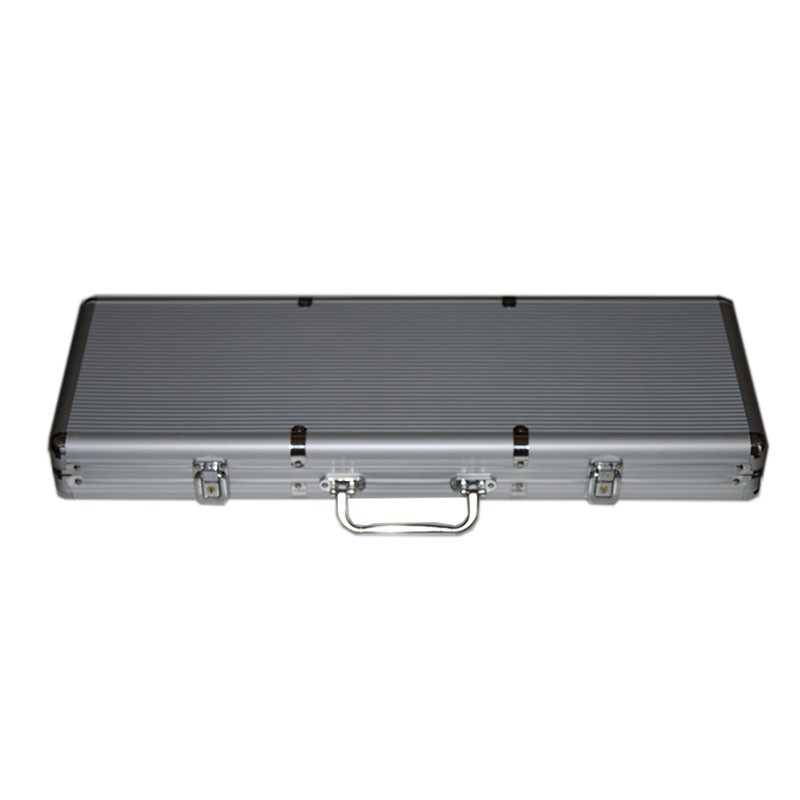 Aluminum Chip Case 500pcs | Βαλίτσα Αλουμινίου Για Μάρκες 500τεμ