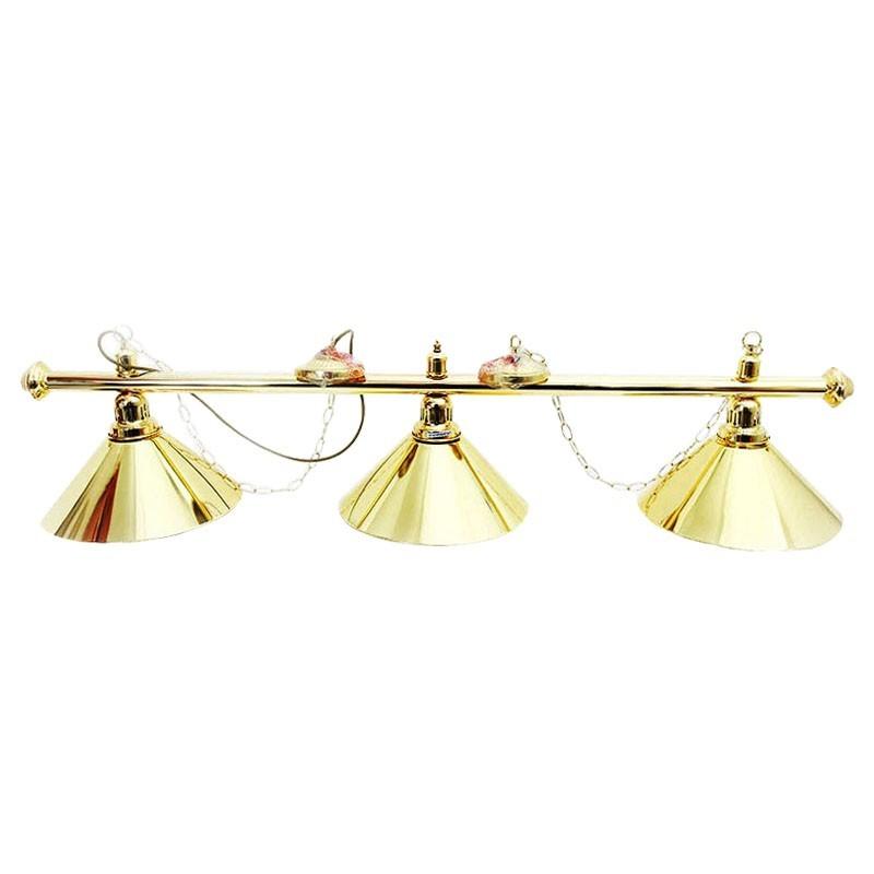 3 Spots Gold Light | Φωτιστικό 3 Θέσεων Χρυσό