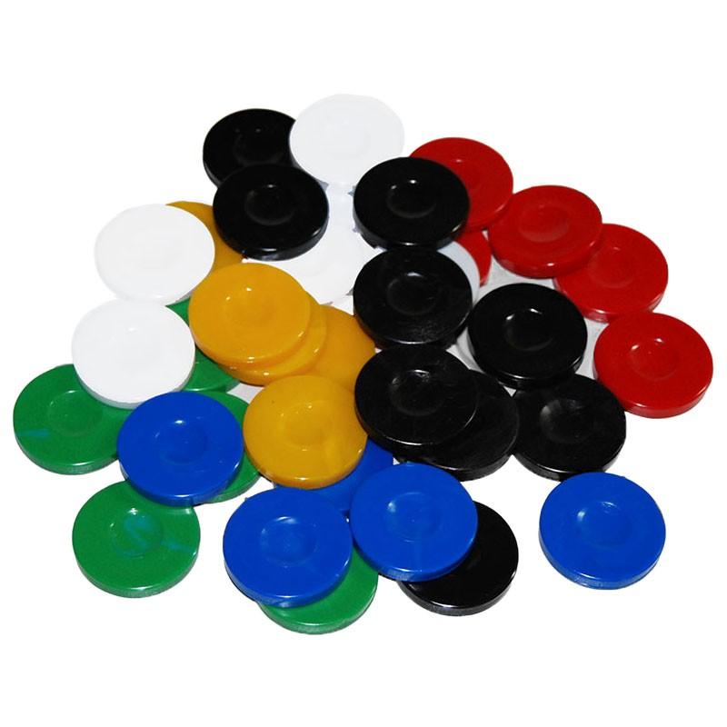 Set of 30 Acrylic Backgammon Chips | Πούλια Τάβλι Απλά