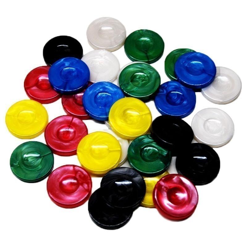 Set of 30 Fildisi Type Backgammon Chips | Πούλια Για Τάβλι Τύπου Φίλντισι