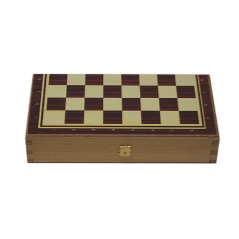 Backgammon Board Simple - Small size | Τάβλι Απλό Μικρού Μεγέθους