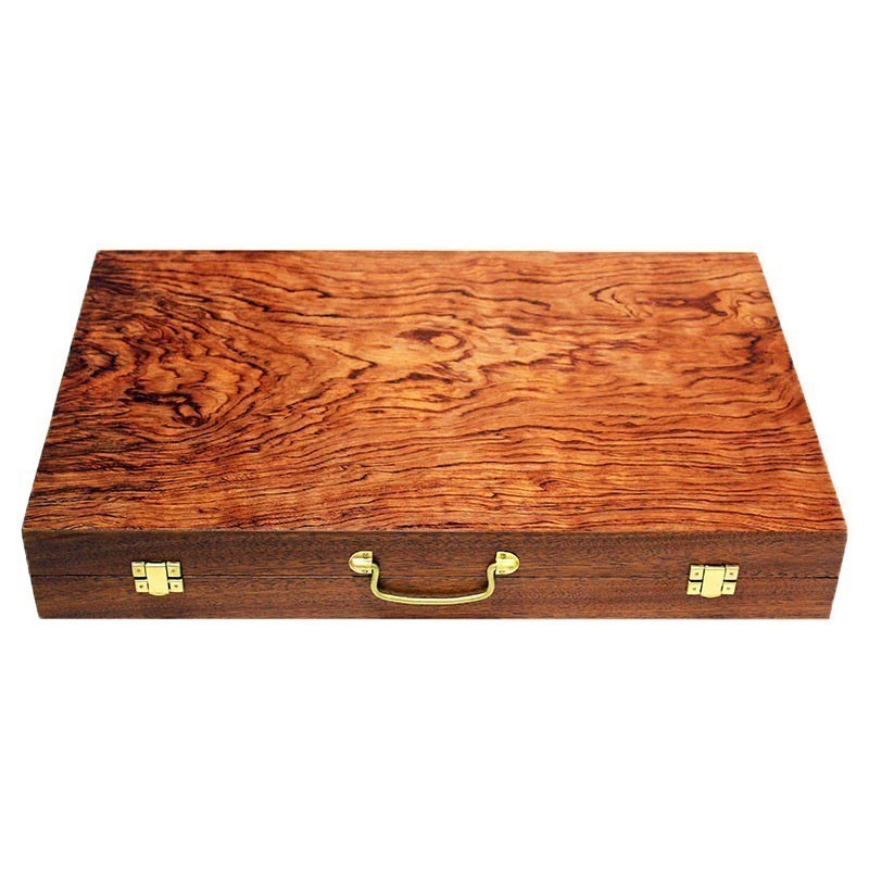 Luxury Rose wood Backgammon suitcase | Τάβλι Βαλίτσα Τριανταφυλλιά Πολυτελείας