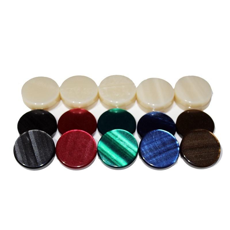 Set of 30 Fildisi Type Backgammon Chips  - Big | Πούλια Φίλντισι ΑΑΑ Μεγάλα