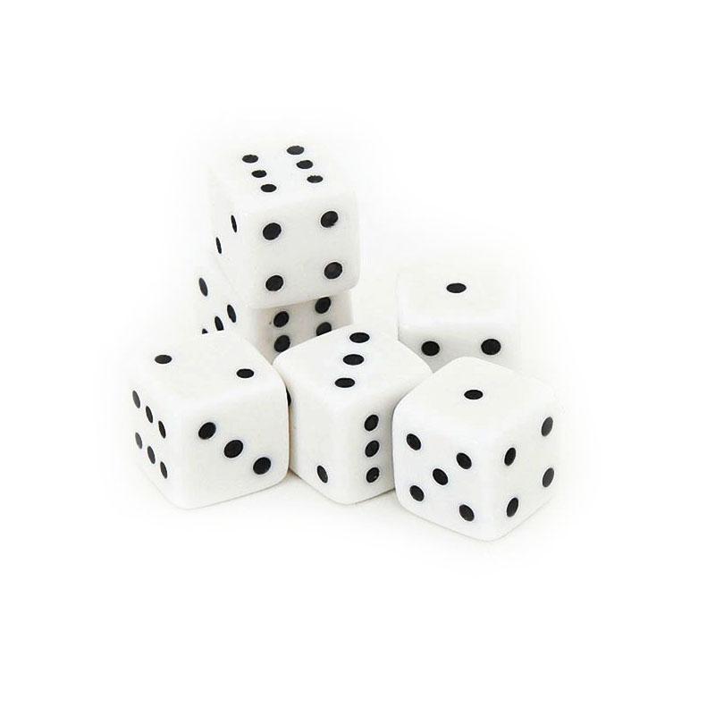 Small Dice 5 Pairs | Σετ Ζάρια Μικρά 5 Ζεύγη
