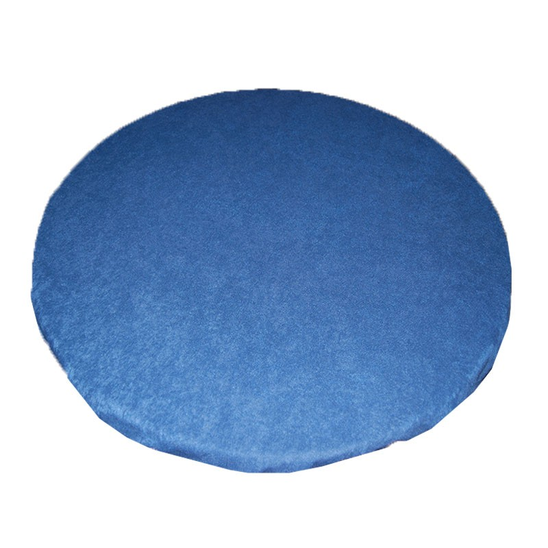 Round Felt Poker Table Cloth - Blue With Elastic Band 1,50 Diam. | Τσόχα Ροτόντα Με Λάστιχο 1,50m