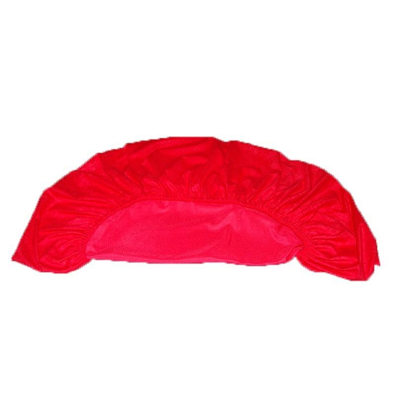 Round Felt Poker Table Cloth - Red With Elastic Band 1.50 Diam. | Τσόχα Ροτόντα Με Λάστιχο 1,50m