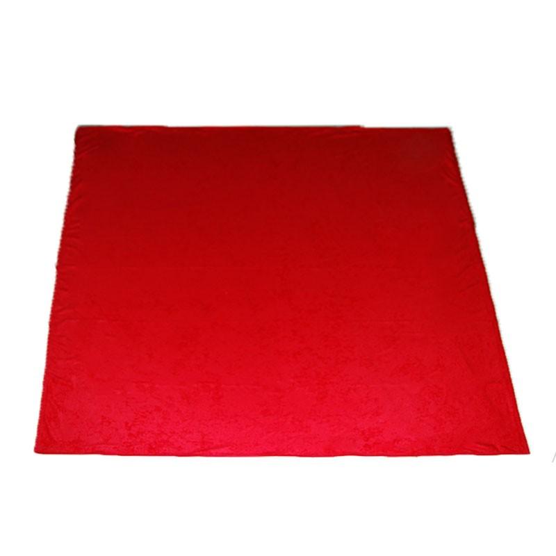 Portable Felt Poker Table Cloth - Red 1.50 x 1,50 | Τσόχα Με Ρέλι 1,50 x 1,50