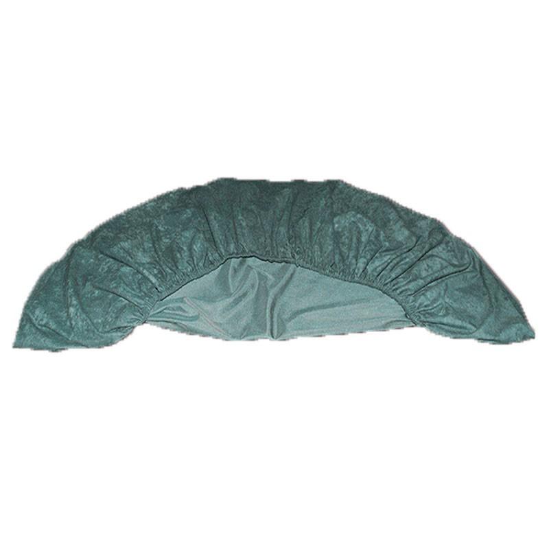 Round Felt Poker Table Cloth - Green With Elastic Band 1.50 Diam | Τσόχα Ροτόντα Με Λάστιχο Πράσινη
