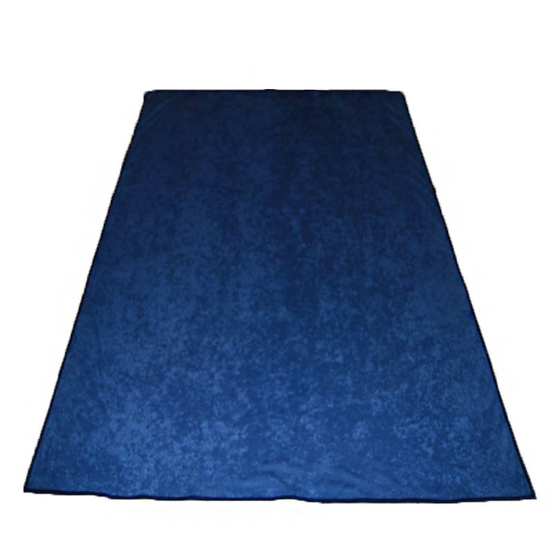 Portable Felt Poker Table Cloth - Blue 1.50 x 2,00 | Τσόχα Με Ρέλι 1,50 x 2,00