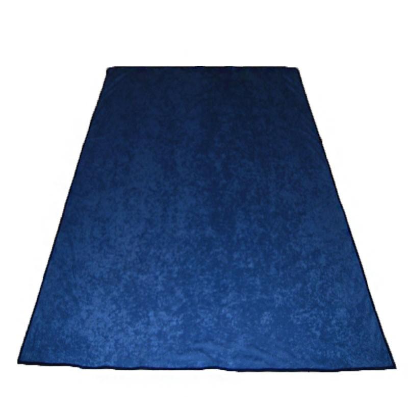 Portable Felt Poker Table Cloth - Blue 1.50 x 2,00 | Τσόχα Με Ρέλι 1,50 x 2,00