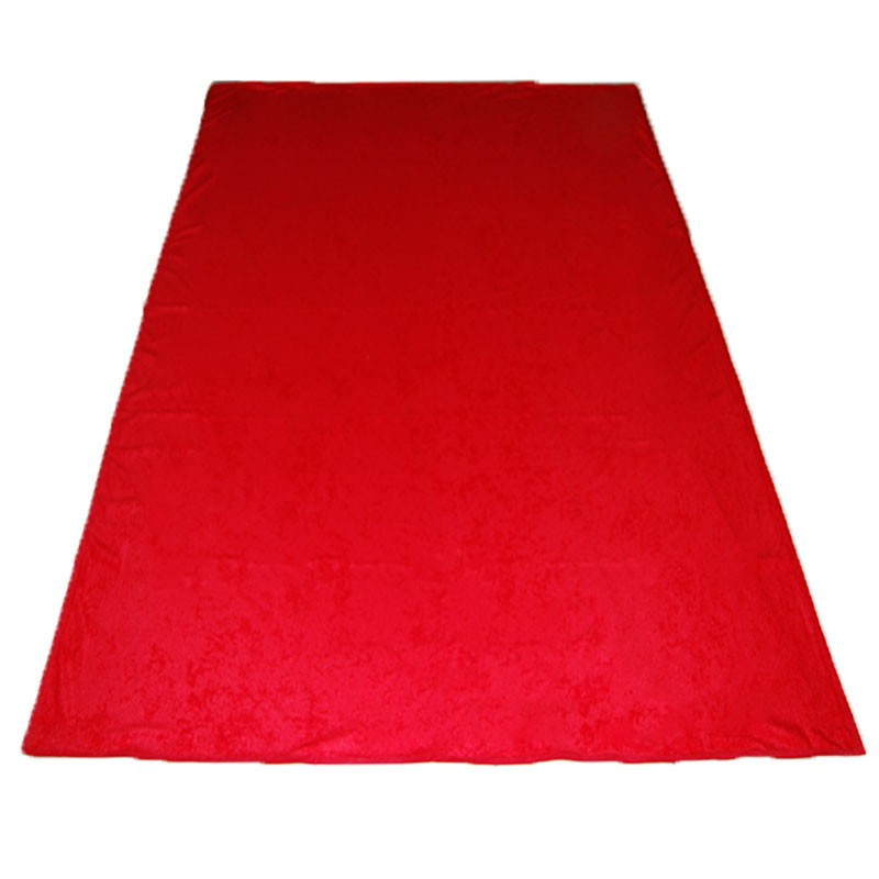 Portable Felt Poker Table Cloth - Red 1.50 x 2,00 | Τσόχα Με Ρέλι 1,50 x 2,00