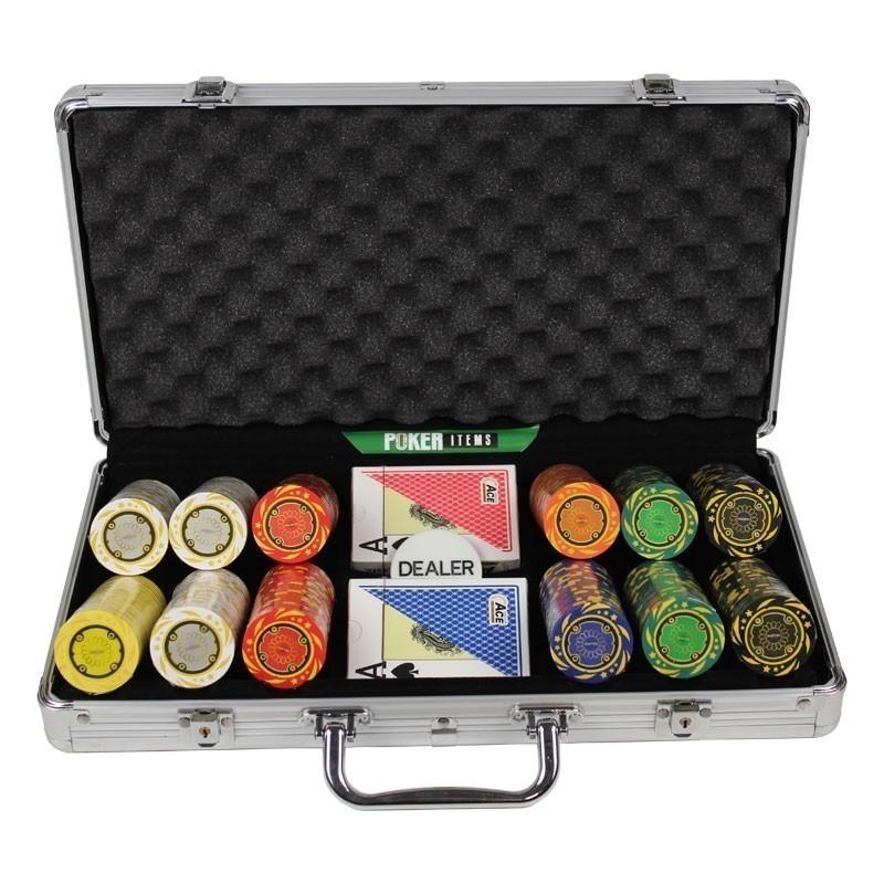 Poker Set 300pcs Quattro 14gr Set in Case
