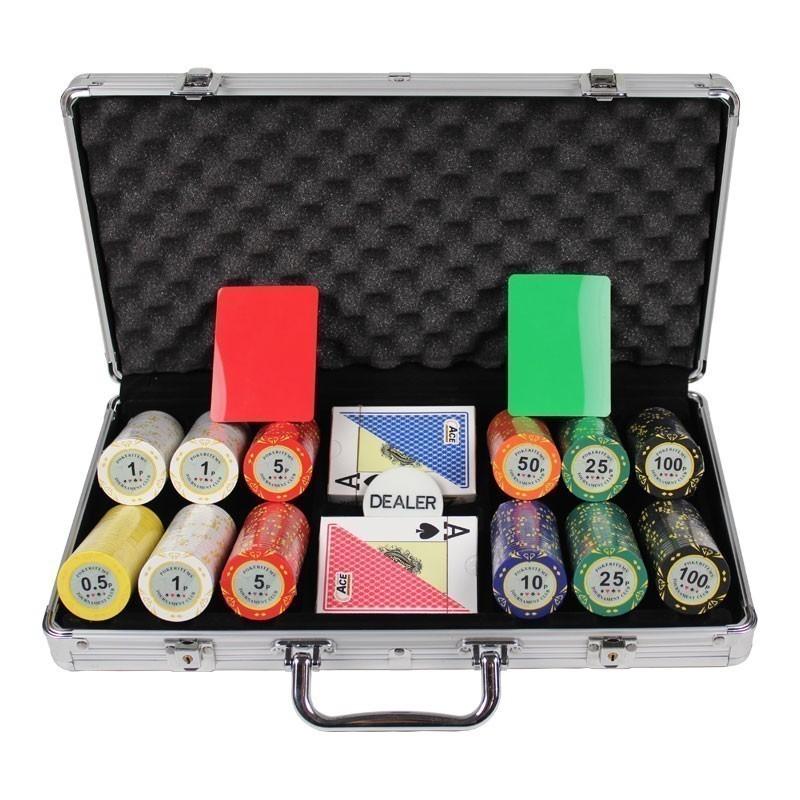 Poker Set 300pcs PokerItems 14gr Set in  Case
