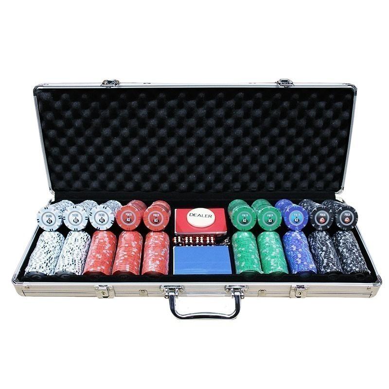 """Poker Set 500pcs """"Poker Ace"""" 14gr"""