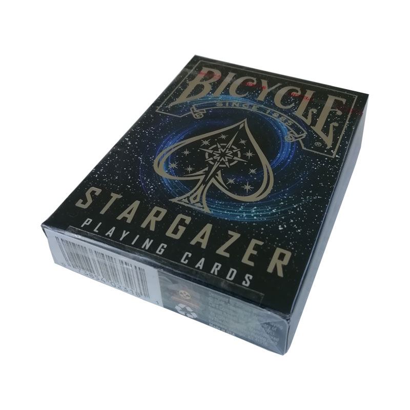 Bicycle  Poker Jumbo Stargazer